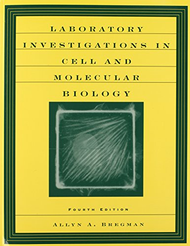 9780471201335: Laboratory Investigations in Cell and Molecular Biology