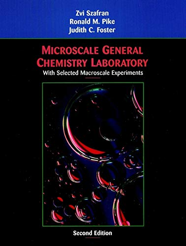 9780471202073: Microscale General Chemistry Laboratory: with Selected Macroscale Experiments