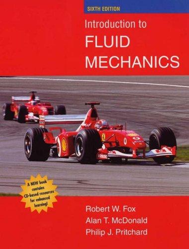 9780471202318: Introduction to Fluid Mechanics