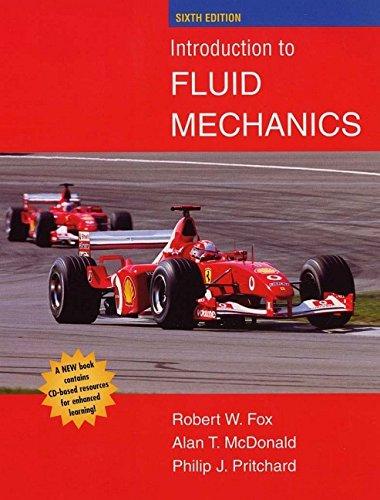 Introduction to Fluid Mechanics: Alan T. McDonald;