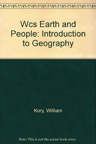 9780471202639: Wcs Earth and People: Introduction to Geography