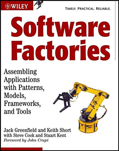 9780471202844: Software Factories: Assembling Applications with Patterns, Models, Frameworks, and Tools (Wiley Application Development)