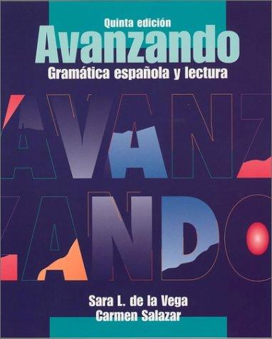 9780471202868: Avanzando: Gramática espaola y lectura (Spanish Edition)