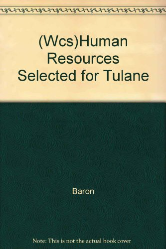 Wcs)Human Resources Selected for Tulane: Baron