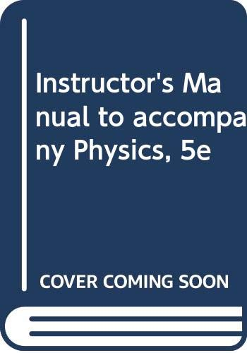 9780471204053: Physics: Instructor's Manual