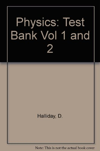 9780471204060: Physics: Test Bank Vol 1 and 2