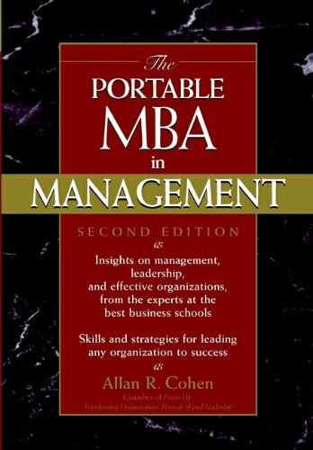 9780471204558: The Portable MBA in Management (The Portable MBA Series)