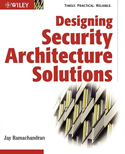 9780471206026: Designing Security Architecture Solutions