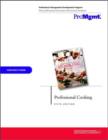 9780471208808: Professional Cooking Instructor's Guide