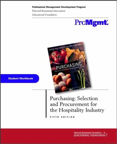 Purchasing, Student Workbook: Selection and Procurement for: Feinstein, Andrew H.,