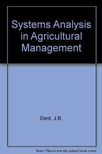 9780471209300: Systems Analysis in Agricultural Management