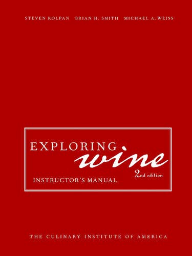 9780471209522: Exploring Wine: Instructor's Manual