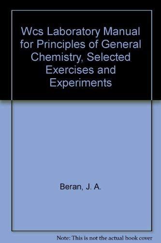 J A Beran Laboratory Manual Principles General AbeBooks