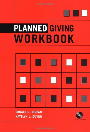 9780471212119: Planned Giving Workbook (Wiley Nonprofit Law, Finance and Management Series)