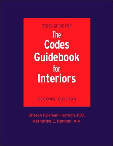 9780471212270: Study Guide for the Codes Guidebook for Interiors