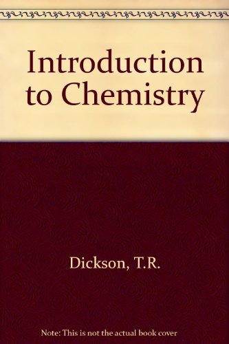 9780471212898: Introduction to Chemistry