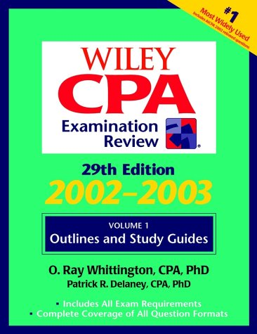 9780471213574: Wiley CPA Examination Review, Outlines and Study Guidelines (Wiley Cpa Examination Review. Vol 1 : Outlines and Study Guides, 29th ed) (Volume 1)