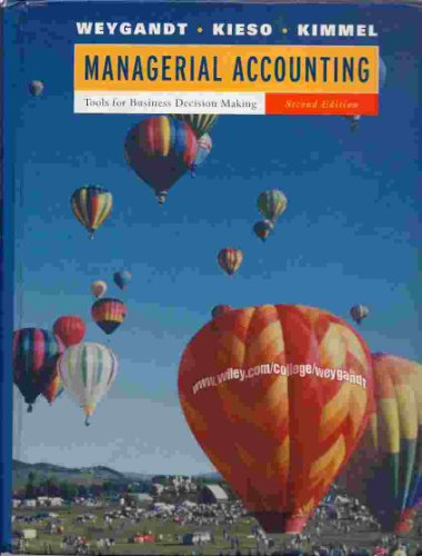 9780471214090: Managerial Accounting: Tools for Business Decision Making