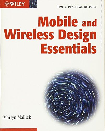 9780471214199: Mobile and Wireless Design Essentials