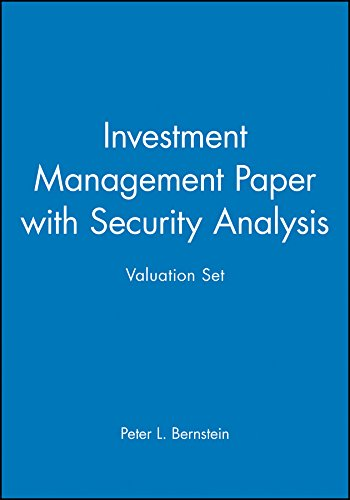 Investment Management Paper with Security Analysis Valuation Set: Wiley
