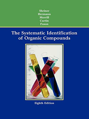 9780471215035: The Systematic Identification of Organic Compounds