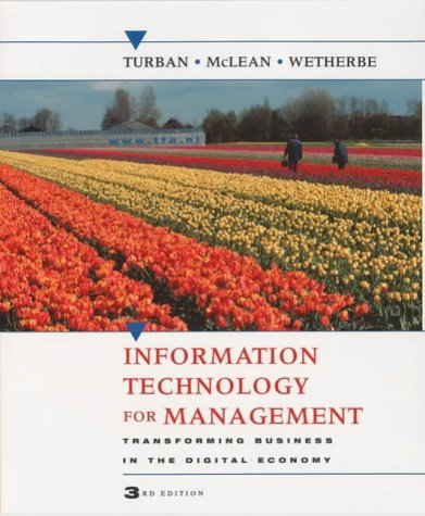 9780471215332: Information Technology for Management: Transforming Business in the Digital Economy