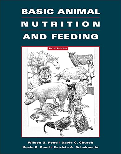9780471215394: Basic Animal Nutrition and Feeding