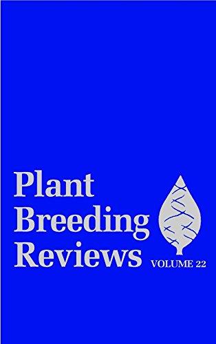 9780471215417: Plant Breeding Reviews, Volume 22