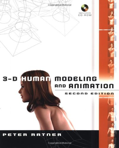 9780471215486: 3-D Human Modeling and Animation, Second Edition
