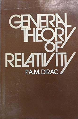 9780471215752: General Theory of Relativity