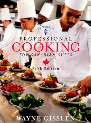9780471216810: Professional Cooking 5e Canadian w/Cd