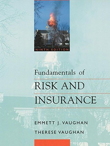 9780471216872: Fundamentals of Risk and Insurance