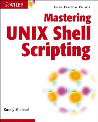 9780471218210: Mastering Unix Shell Scripting
