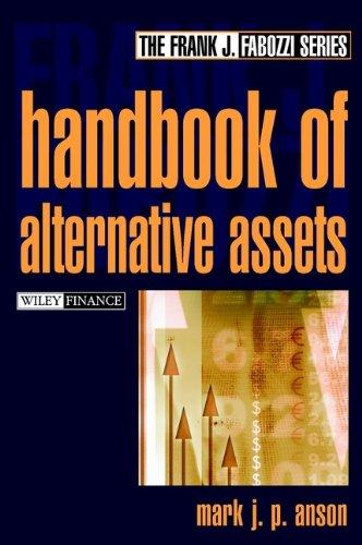 9780471218265: The Handbook of Alternative Assets (Frank J. Fabozzi Series)