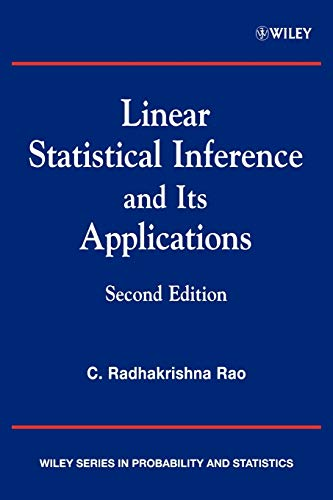 9780471218753: Linear Statistical Inference and its Applications