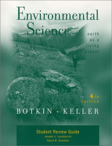 9780471218852: Environmental Science: Earth As a Living Planet: Student Review Guide