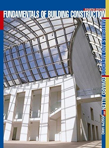 Fundamentals of Building Construction: Materials and Methods: Edward Allen, Joseph