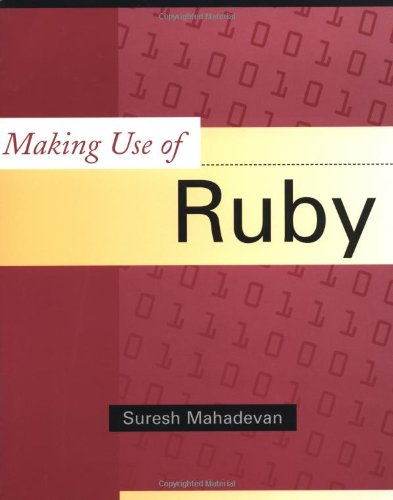 9780471219729: Making Use of Ruby