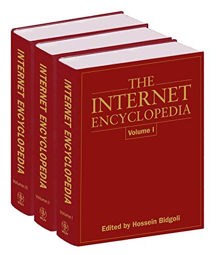 9780471222019: The Internet Encyclopedia, 3 Volume Set (Vol 1-3)