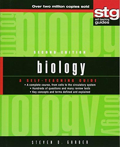 9780471223306: BIOLOGY 2/E: A Self-teaching Guide (Wiley Self-Teaching Guides)