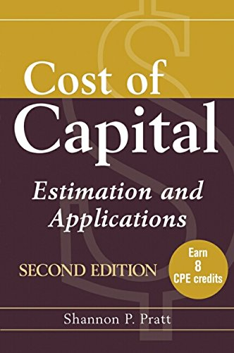 9780471224013: Cost of Capital: Estimation and Applications
