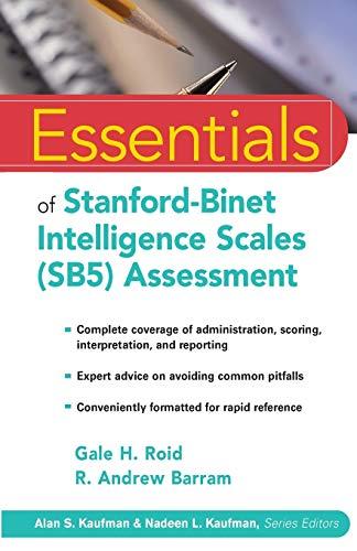 9780471224044: Essentials of Stanford-Binet Intelligence Scales (SB5) Assessment