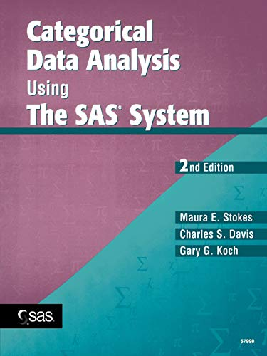 9780471224242: Categorical Data Analysis Using The SAS System