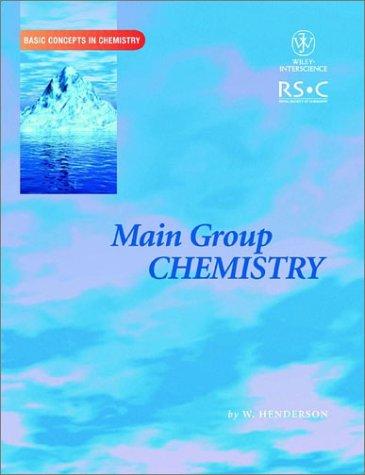 9780471224785: Main Group Chemistry
