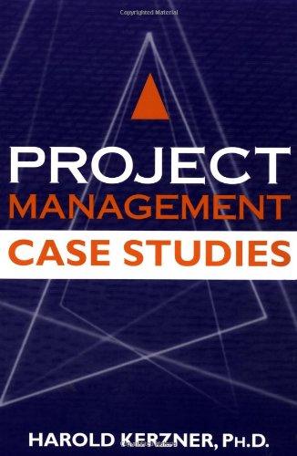 9780471225782: Project Management Case Studies