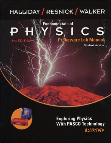 9780471226987: Fundamentals of Physics, , Probeware Lab Manual/Student Version