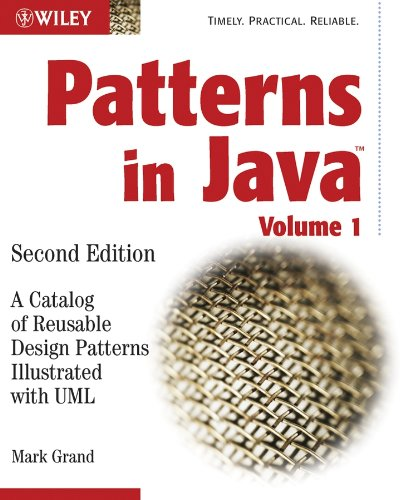 9780471227298: Patterns in Java: A Catalog of Reusable Design Patterns Illustrated with UML, 2nd Edition, Volume 1