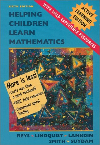 9780471228141: Helping Children Learn Mathematics, Active Learning Edition with Field Experience Resources