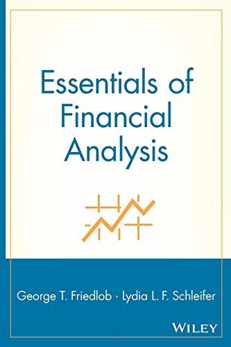 9780471228301: Essentials Financial (Essentials Series)