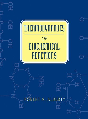 9780471228516: Thermodynamics of Biochemical Reactions